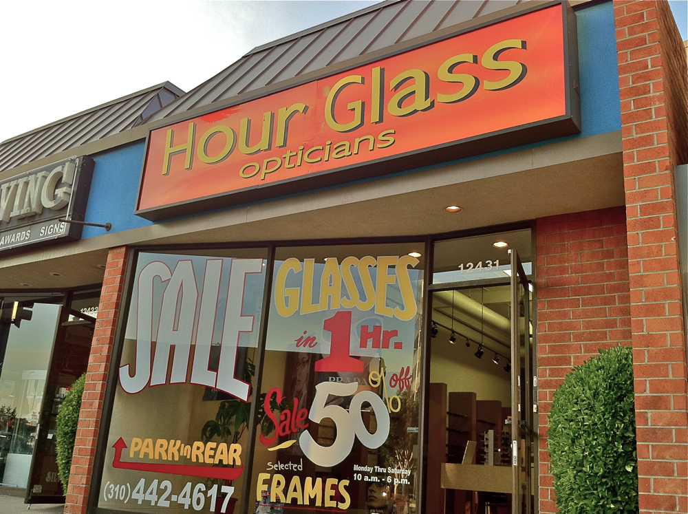 Hour Glass Optical Specializes In High End Glasses